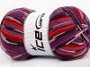 Super Sock White Red Purple Orange Lilac Black