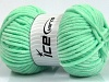 Chenille Baby Mint Green
