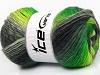 Lana Bella Neon Green Grey Shades