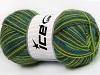 Magic Sock Turquoise Light Green Grey