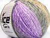 Roseto Worsted Lilac Shades Grey Shades Camel
