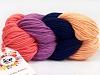 Art Color Cotton laks Marinen lys Salmon Lavendel