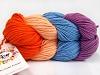 Art Color Cotton laks lys Salmon Lavendel Blå