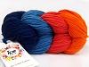 Art Color Cotton laks Orange Marinen Jeans Blue