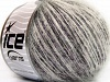 Sale Mohair-Wool Blend Hvit Rosa Svart