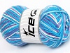 Natural Cotton Color Turquoise Shades Lilac