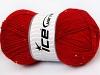 Chain Paillette rød