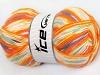Design Petite Gul Turkis laks Orange Mint Ecru
