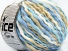 Wool Superbulky Color White Blue Shades Beige