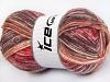 Jeans Wool rød Rødbrun Krem Burgunder