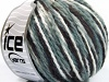 Wool Worsted Color White Grey Shades Dark Brown