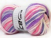 GumBall White Purple Pink Lilac