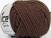 Superwash Wool Bulky Dark Brown
