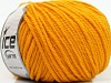 Superwash Wool Bulky Dark Yellow