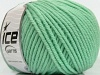Superwash Wool Bulky Mint Green
