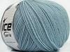 Superwash Wool Light Blue