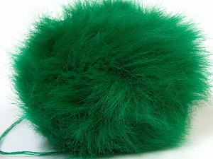 Diameter around 7cm (3&) Yarn Thickness Other, Brand ICE, Green, acs-552