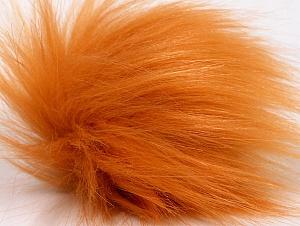 Diameter around 7cm (3&) Light Orange, Brand ICE, acs-1177