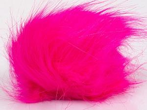 Diameter around 7cm (3&) Neon Pink, Brand ICE, acs-1189