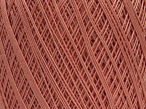 Ne: 10/3 Nm: 17/3 Fiber Content 100% Mercerised Cotton, Rose Pink, Brand ICE, Yarn Thickness 1 SuperFine  Sock, Fingering, Baby, fnt2-49529