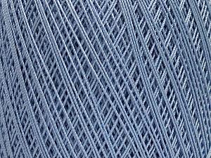 Ne: 10/3 Nm: 17/3 Fiber Content 100% Mercerised Cotton, Light Lilac, Brand ICE, Yarn Thickness 1 SuperFine  Sock, Fingering, Baby, fnt2-49533