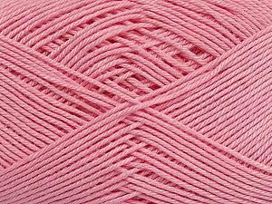 Ne: 8/4. Nm 14/4 Fiber Content 100% Mercerised Cotton, Light Pink, Brand ICE, Yarn Thickness 2 Fine  Sport, Baby, fnt2-49608