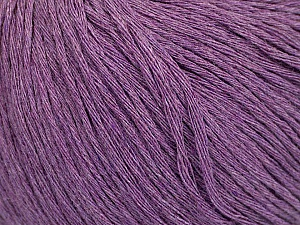 Fiber Content 100% Cotton, Lavender, Brand Ice Yarns, Yarn Thickness 1 SuperFine  Sock, Fingering, Baby, fnt2-49962