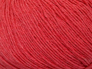 Fiber Content 100% Cotton, Salmon, Brand ICE, Yarn Thickness 1 SuperFine  Sock, Fingering, Baby, fnt2-49964