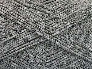 Fiber Content 100% Cotton, Brand ICE, Grey, Yarn Thickness 2 Fine  Sport, Baby, fnt2-50092