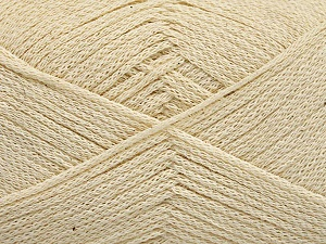 Fiber Content 100% Cotton, Brand ICE, Cream, Yarn Thickness 2 Fine  Sport, Baby, fnt2-50094
