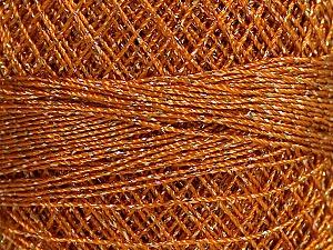 Fiber Content 70% Polyester, 30% Metallic Lurex, Brand YarnArt, Gold, Yarn Thickness 0 Lace  Fingering Crochet Thread, fnt2-50147