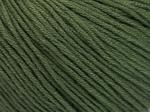 Fiber Content 60% Bamboo, 40% Cotton, Brand ICE, Dark Khaki, Yarn Thickness 3 Light  DK, Light, Worsted, fnt2-50540