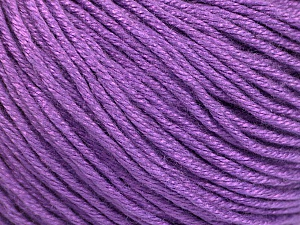 Fiber Content 60% Bamboo, 40% Cotton, Lavender, Brand ICE, Yarn Thickness 3 Light  DK, Light, Worsted, fnt2-50554