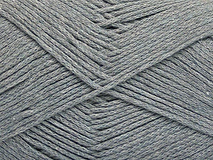 Fiber Content 100% Cotton, Brand ICE, Grey, Yarn Thickness 2 Fine  Sport, Baby, fnt2-50587