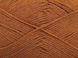 Fiber Content 100% Cotton, Light Brown, Brand ICE, Yarn Thickness 2 Fine  Sport, Baby, fnt2-50692
