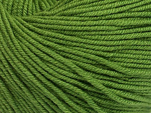 Fiber Content 60% Cotton, 40% Acrylic, Brand ICE, Forest Green, Yarn Thickness 2 Fine  Sport, Baby, fnt2-51208