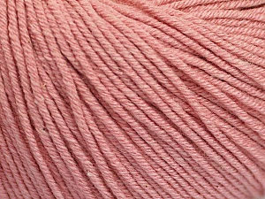 Fiber Content 60% Cotton, 40% Acrylic, Rose Pink, Brand ICE, Yarn Thickness 2 Fine  Sport, Baby, fnt2-51245