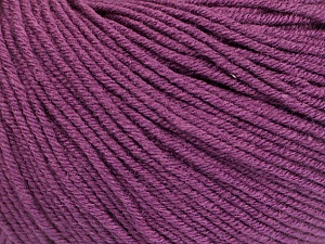 Fiber Content 60% Cotton, 40% Acrylic, Maroon, Brand ICE, Yarn Thickness 2 Fine  Sport, Baby, fnt2-51248