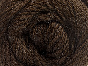 Fiber Content 45% Alpaca, 30% Polyamide, 25% Wool, Brand ICE, Dark Brown, Yarn Thickness 3 Light  DK, Light, Worsted, fnt2-51525