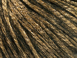 Fiber Content 70% Polyamide, 19% Merino Wool, 11% Acrylic, Brand ICE, Gold, Black, Yarn Thickness 4 Medium  Worsted, Afghan, Aran, fnt2-51550