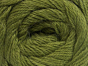 Fiber Content 45% Alpaca, 30% Polyamide, 25% Wool, Brand ICE, Green, Yarn Thickness 2 Fine  Sport, Baby, fnt2-51593