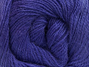 Fiber Content 45% Alpaca, 30% Polyamide, 25% Wool, Lavender, Brand ICE, Yarn Thickness 2 Fine  Sport, Baby, fnt2-51598