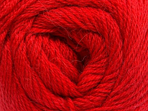 Fiber Content 45% Alpaca, 30% Polyamide, 25% Wool, Red, Brand ICE, Yarn Thickness 2 Fine  Sport, Baby, fnt2-51602