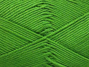 Fiber Content 50% Acrylic, 50% Bamboo, Brand ICE, Green, Yarn Thickness 2 Fine  Sport, Baby, fnt2-51654