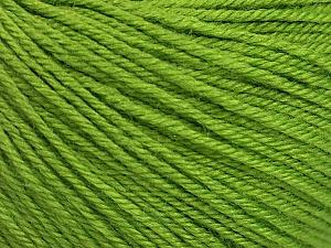 Fiber Content 40% Acrylic, 40% Merino Wool, 20% Polyamide, Brand ICE, Green, Yarn Thickness 2 Fine  Sport, Baby, fnt2-52022