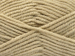 Fiber Content 50% Acrylic, 25% Wool, 25% Alpaca, Brand ICE, Beige, Yarn Thickness 5 Bulky  Chunky, Craft, Rug, fnt2-52132