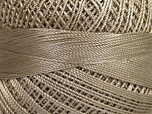 Fiber Content 100% Micro Fiber, Brand YarnArt, Light Beige, Yarn Thickness 0 Lace  Fingering Crochet Thread, fnt2-52261