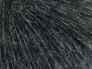 Fiber Content 34% Acrylic, 26% Polyamide, 25% Alpaca, 15% Superwash Merino Wool, Brand ICE, Anthracite Black, Yarn Thickness 3 Light  DK, Light, Worsted, fnt2-52378