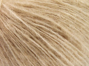 Fiber Content 34% Acrylic, 26% Polyamide, 25% Alpaca, 15% Superwash Merino Wool, Light Camel, Brand ICE, Yarn Thickness 3 Light  DK, Light, Worsted, fnt2-52382