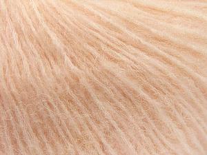 Fiber Content 34% Acrylic, 26% Polyamide, 25% Alpaca, 15% Superwash Merino Wool, Light Salmon, Brand ICE, Yarn Thickness 3 Light  DK, Light, Worsted, fnt2-52384